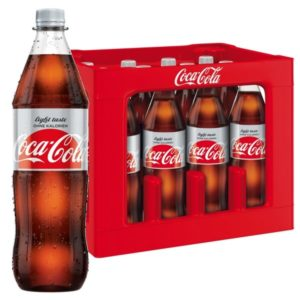 Coca-Cola light 1,0L PET im 12er Kasten