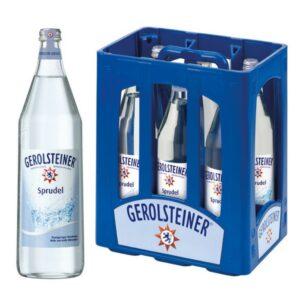 Gerolsteiner Sprudel 6x 1L (Glas)