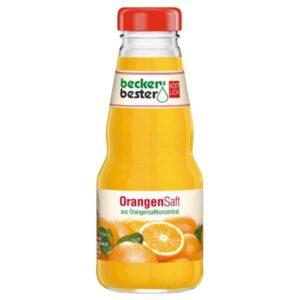 Beckers Bester Orange 12x 0,2L (GLAS)