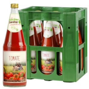 Beckers Bester Tomate 6x 1L (GLAS)