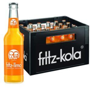 Fritz Limo Orangenlimonade 24x 0,33L (GLAS)