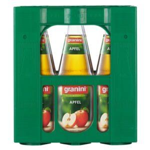 Granini Apfel Klar 6x1L (GLAS)