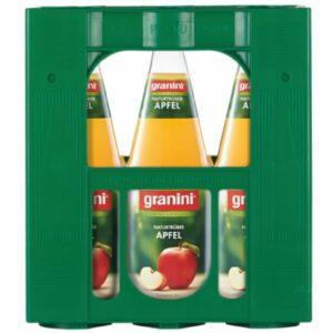 Granini Apfel Naturtrüb 6x1L (GLAS)