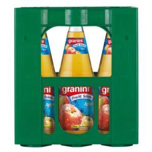 Granini Fruchtschorle Apfel Klar 6x1L (GLAS)
