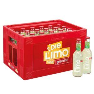 Granini Die Limo Limette + Zitrone 24x 0,25L (GLAS)