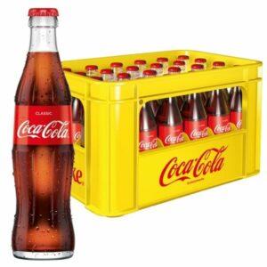 Coca Cola 24x 0,33L (GLAS)