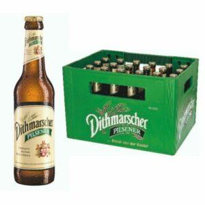 Dithmarscher Pilsener 24x 0,33L (GLAS)