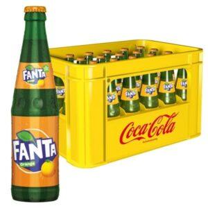 Fanta Orange 24x 0,33L (GLAS)