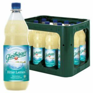 Glashäger Bitter Lemon 1,0L PET im 12er Kasten
