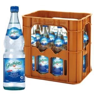 Glashäger Classic 0,7L Glas im 12er Kasten