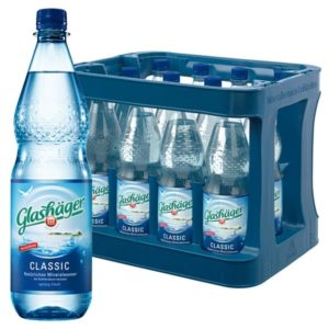 Glashäger Classic 1,0L PET im 12er Kasten