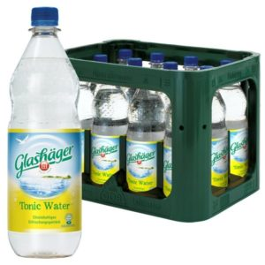 Glashäger Tonic Water 1,0L PET im 12er Kasten