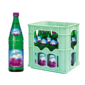 Glashäger Sanft 0,75L Glas im 12er Kasten