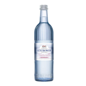 Güstrower Schlossquell Naturell Gourmet 0,25L Glas im 20er Kasten