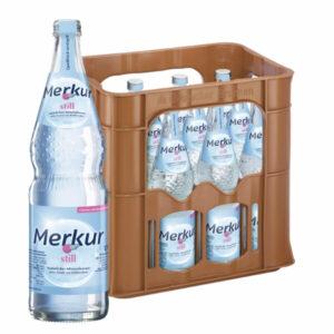 Merkur Still 0,7L Glas im 12er Kasten