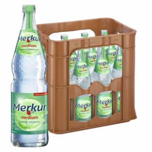 Merkur Medium 0,7L Glas im 12er Kasten