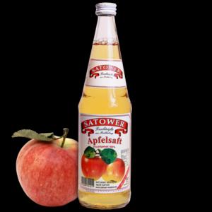 Satower Apfelsaft Klar