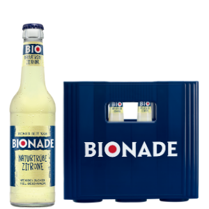 BIONADE NATURTRÜBE ZITRONE 12x0,33l
