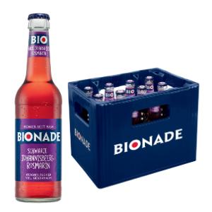 Bionade Schwarze Johanisbeere Rosmarin 12x0,33l