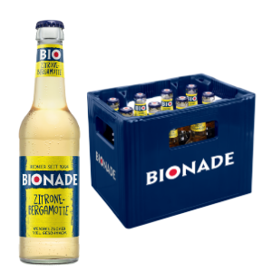 BIONADE ZITRONE-BERGAMOTTE 12x0,33l