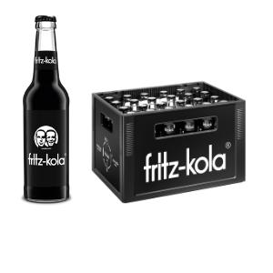 Fritz Kola 0,33L Glas im 24er Kasten