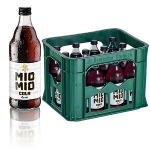 Mio Mio Cola Zero, 12x 0,5L Glas