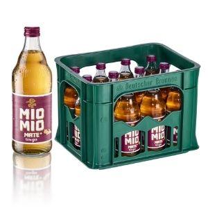 Mio Mio Mate Ginger, 12x 0,5L Glas